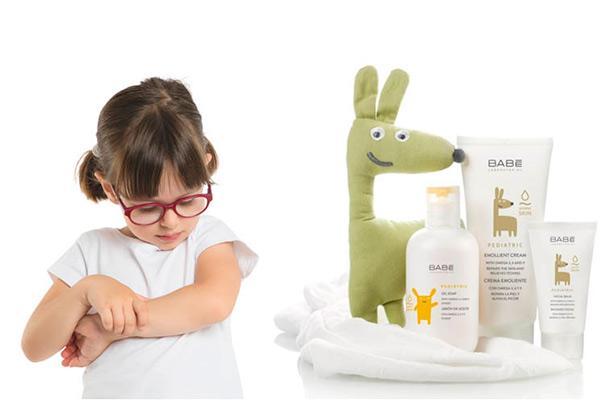 conoces babe estos son sus nuevos productos para la piel atopica infantil