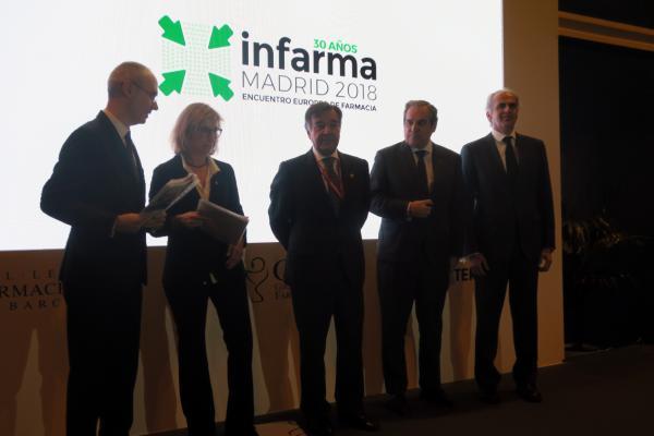 el consejero de sanidad de la comunidad de madrid inaugura infarma