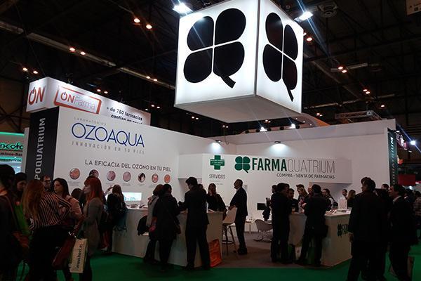 farmaquatrium se consolida en infarma 2018 y presenta nuevos pasos en su plan de expansion