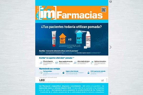 ya esta disponible la revista im farmacias n84
