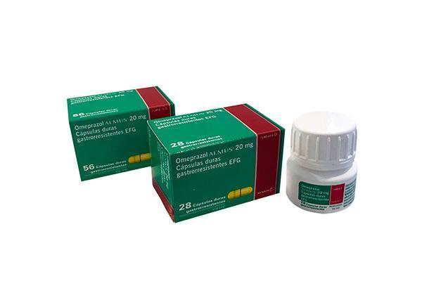 omeprazol almus 20 mg disponible en formato frasco