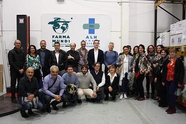 el sector farmaceutico de aragon visita farmamundi