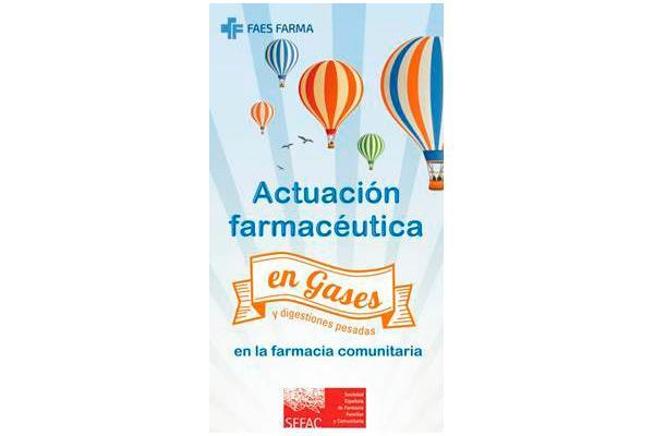 sefac y faes farma presentan una guia de actuacion farmaceutica en gases y digestiones pesadas