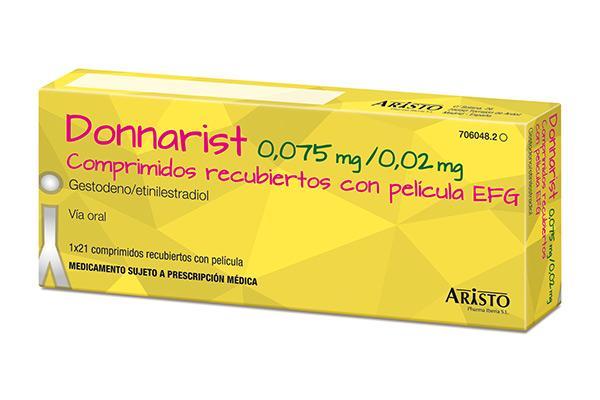 aristo lanza el primer gestodenoetinilestradiol financiado del mercado