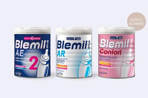 blemil renueva sus leches infantiles para trastornos digestivos leves