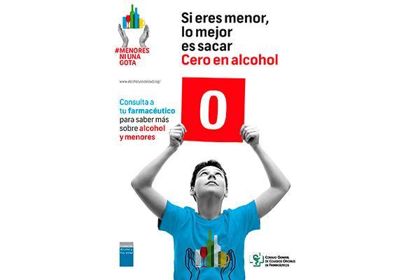 las farmacias ciudadrealenas continuan con la campana para prevenir el consumo de alcohol en menores