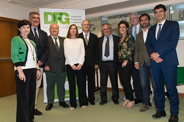 fernando echeveste nuevo presidente de distribuidora farmaceutica de gipuzkoa