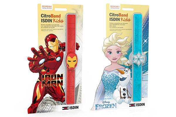 ironman y forzen se suman a la gama de pulseras antimosquitos de isdin