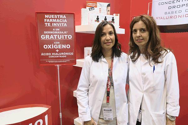 el objetivo de vital plus active es que la gente compre la cosmtica en farmacia