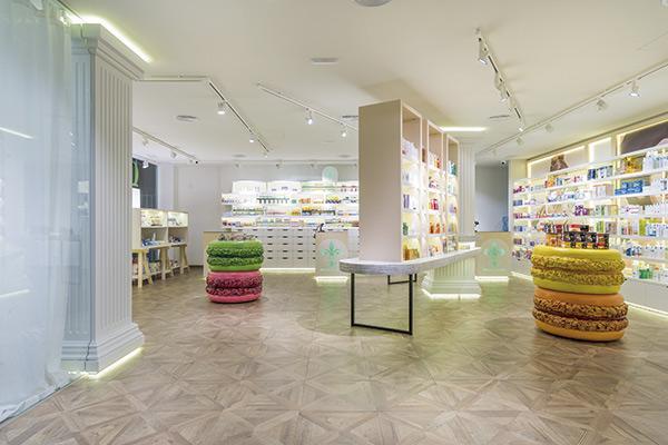 oui pharmacie originalidad elegancia y atrevimiento