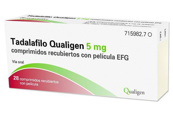 qualigen lanza tadalafilosupsup 5 mg