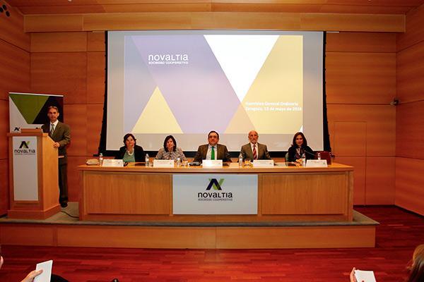 los socios de novaltia aprueban las cuentas anuales y las lineas estrategicas de la cooperativa