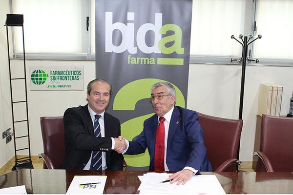 bidafarma y fsfe consolidan su colaboracion con la ampliacion de banco de medicamentos