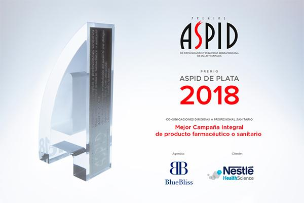blue bliss aspid de plata a la mejor campana integral de promocion con nestle health science