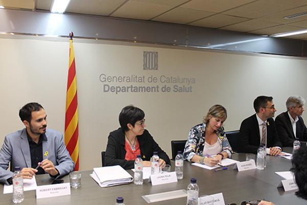cataluna configura su renovada consejeria de salud
