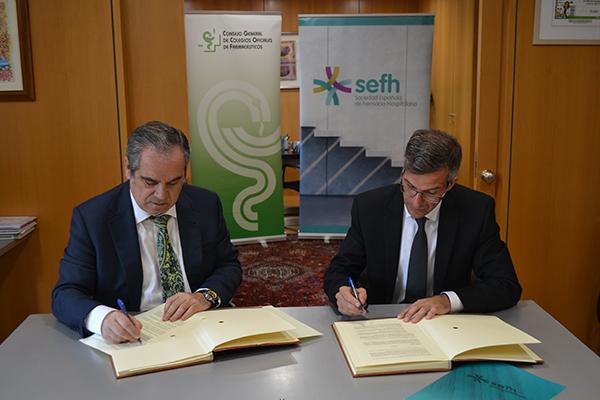 el cgcof y la sefh se unen para desarrollar la recertificacion periodica y voluntaria de los farmaceuticos hospitalarios