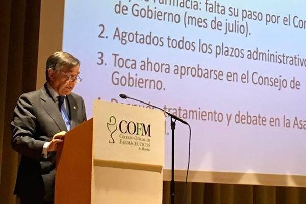 una comision con sanidad y hacienda analizara la situacion economica de la farmacia de madrid