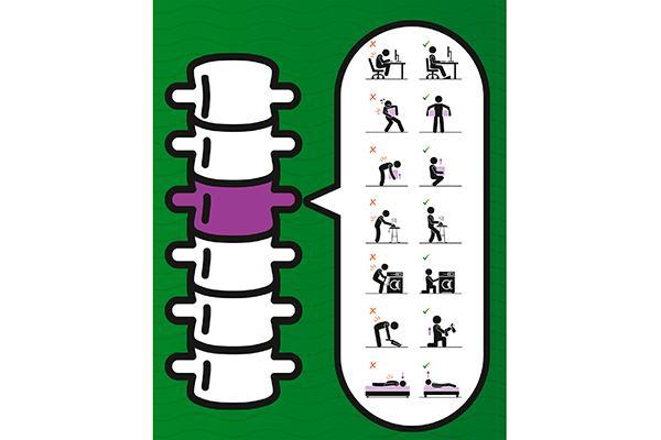 las farmacias almerienses velan por la salud de la espalda