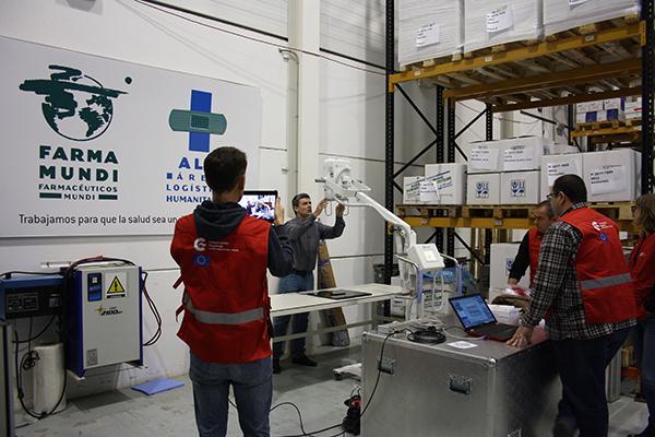 farmamundi participa en el nuevo hospital para emergencias dr juan bartolome