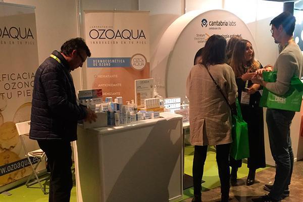 ozoaqua presenta su linea dermocosmetica de ozono en las jornadas bidafarma de galicia