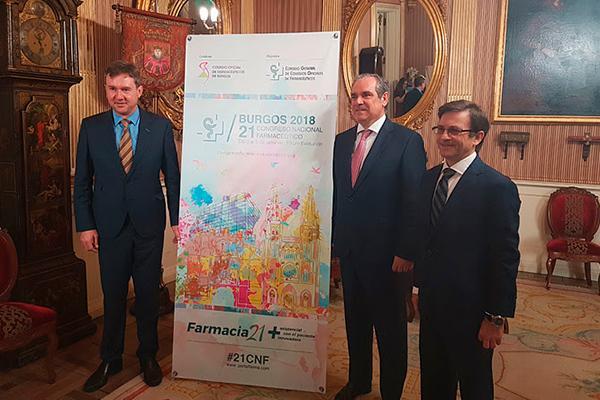 burgos ya conoce los detalles del 21 congreso nacional farmaceutico