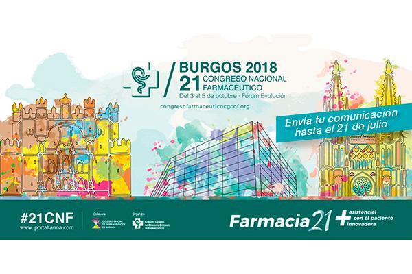 envia tu comunicacion al 21 congreso nacional farmaceutico hasta el 21 de julio