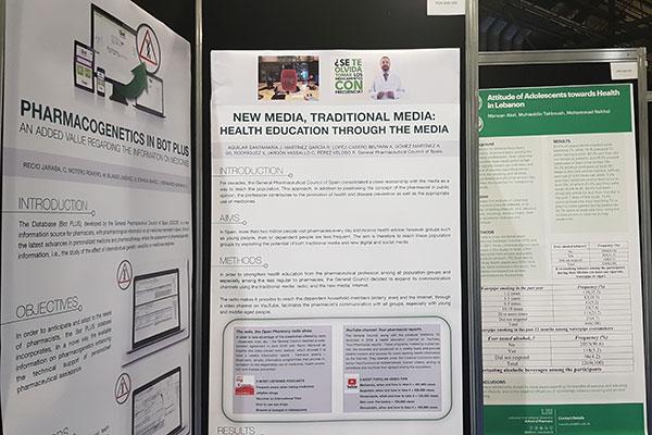 las actividades y servicios de informacion del cgcof presentes en el congreso mundial de farmacia