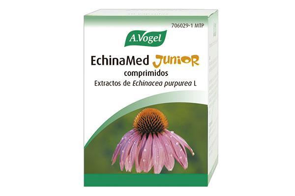 echinamed junior el tratamiento de origen natural que alivia los sintomas de la gripe y el resfriado