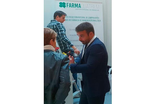 farmaquatrium lleva sus servicios de gestion integral de farmacias al 21 congreso nacional farmaceutico