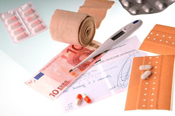 el gasto en productos farmaceuticos y sanitarios sigue aumentando