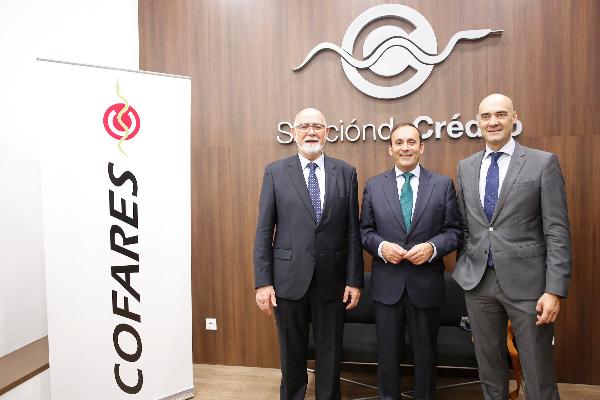 el grupo cofares inaugura una nueva sucursal de la seccion de credito en valencia
