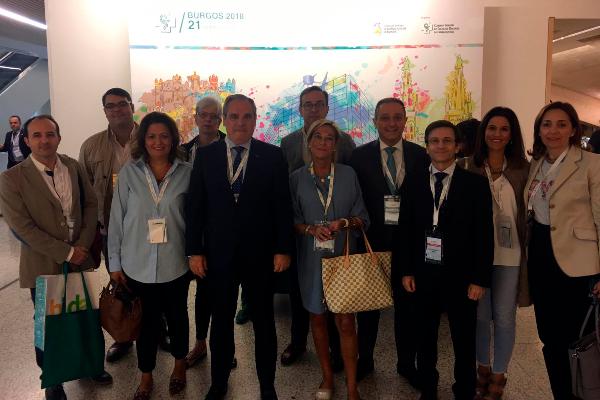el cof de jaen participa activamente en el 21 congreso nacional farmaceutico