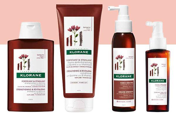 klorane inyecta fuerza botanica al cabello con su complejo de quinina  queratina
