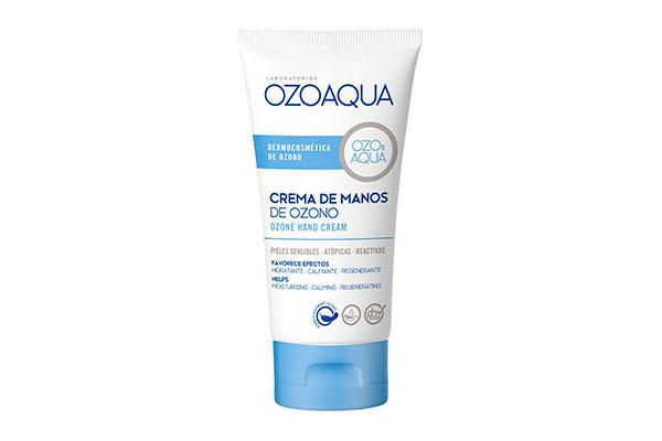 ozoaqua amplia su catalogo con la crema de manos de ozono