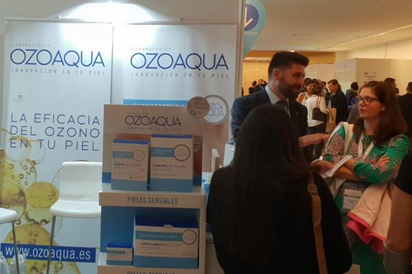 ozoaqua presenta las novedades de su linea de dermocosmetica de ozono en el 21 cnf