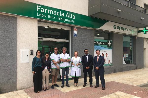 la primera farmacia full branding de alphega farmacia llega a andalucia