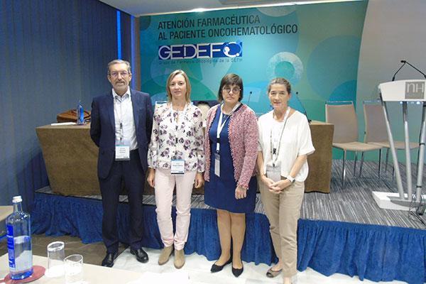 investigacion integracion en equipos multidiciplinares e inmunooncologia en la reunion anual de gedefosefh