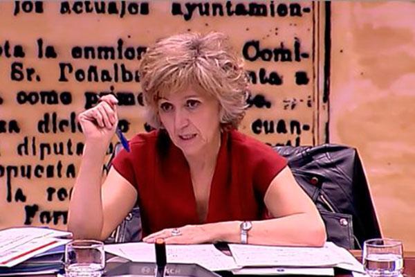maria luisa carcedo presenta las lineas de actuacion del ministerio de sanidad