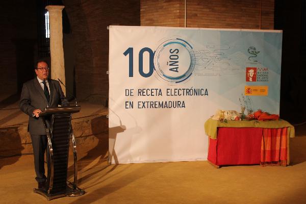 extremadura celebra los 10 anos de la implantacion de la receta electronica