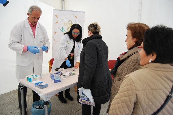los farmaceuticos de jaen acercan la diabetes a la ciudadania