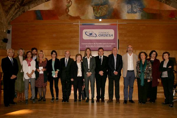 la fundacio ordesa dona 400000 euros para mejorar la calidad de vida de los ninos