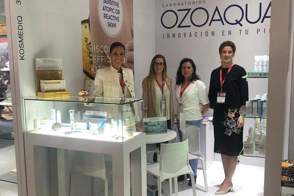 laboratorios ozoaqua presenta su linea dermocosmetica de ozono en el mercado asiatico