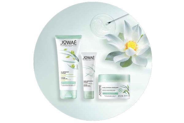 recupera el equilibrio de la piel con los tratamientos purificantes de jowae