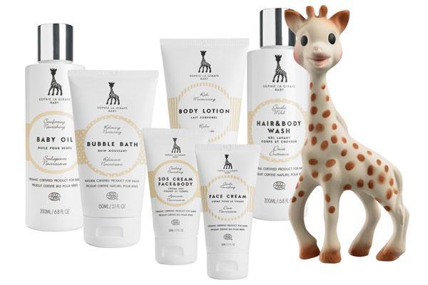 sophie la girafesupsup baby mxima delicadeza para la piel del beb