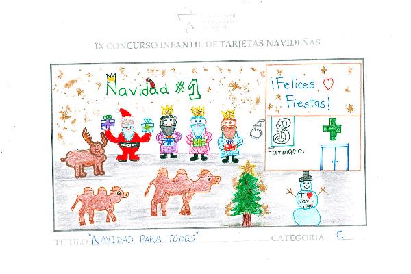 el-cof-de-almeria-celebra-su-tradicional-concurso-infantil-de-tarjeta