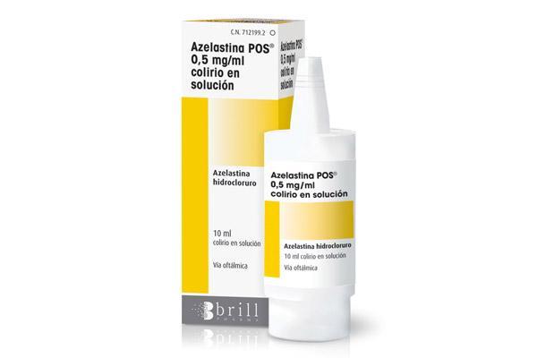 azelastina possupsup lo nuevo de brill pharma para la prevencion y el tratamiento de la conjuntivitis alergica