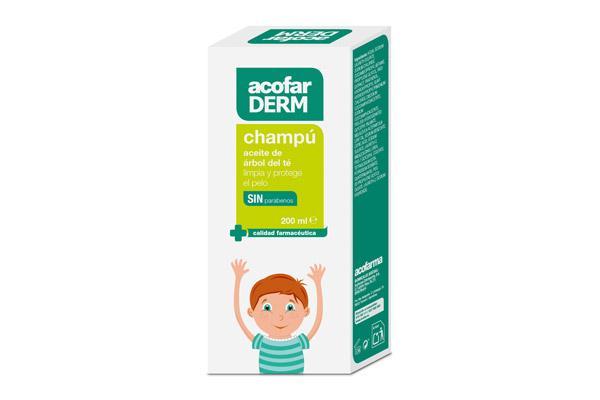 champu aceite arbol del te limpieza y proteccion para los mas pequenos