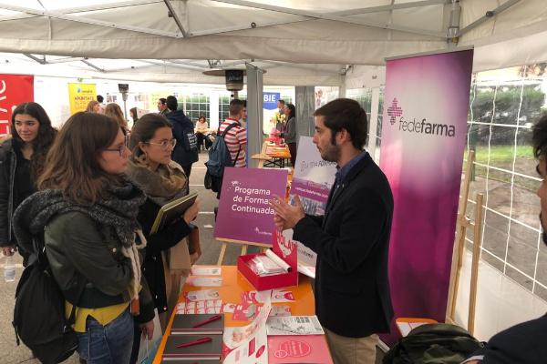 fedefarma da la mano a los estudiantes de farmacia