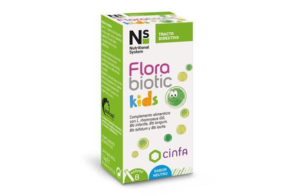 ns florabiotic kids el complemento alimenticio que se adapta a la flora intestinal de los mas pequenos