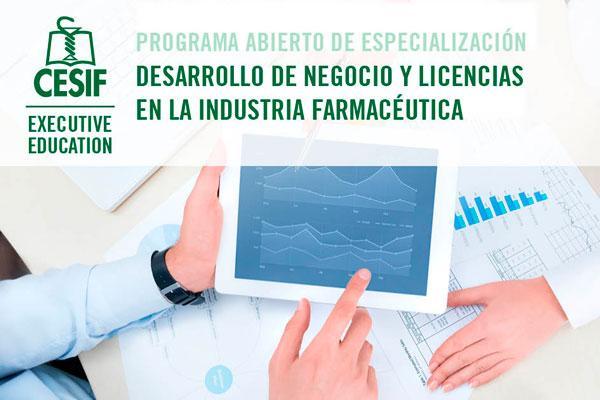 cesif convoca la xii edicion del programa en desarrollo de negocio en la industria farmaceutica